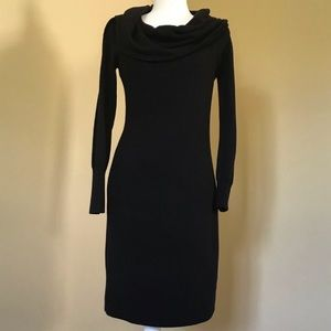 Cowl Neck Sweater Dress Size Small
